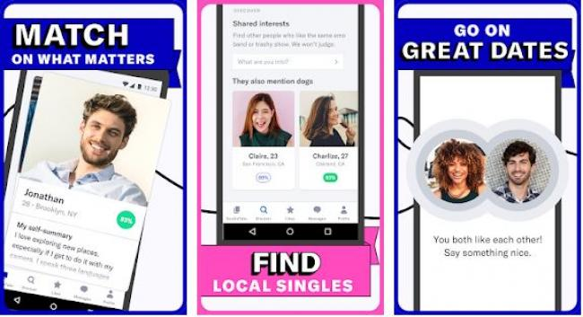 4. Aplikasi OkCupid