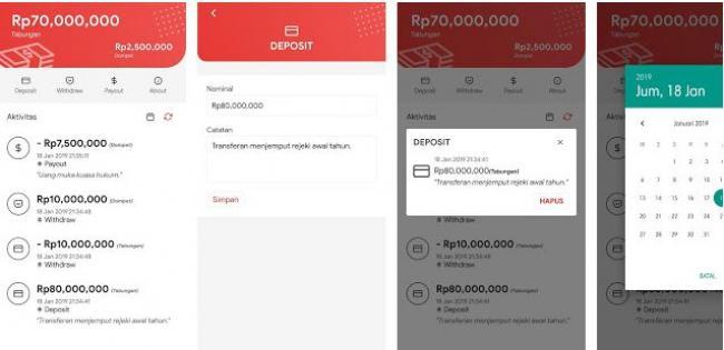 4. Aplikasi Uangku