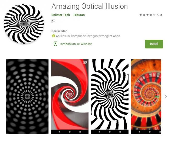 Amazing Optical Illusion