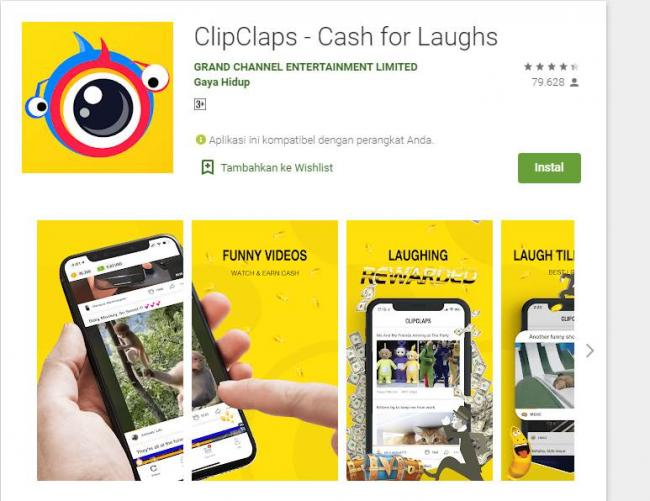 Aplikasi ClipClaps