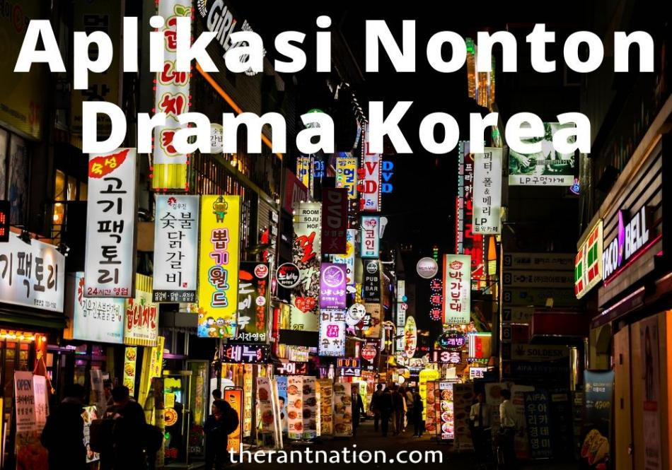 7 Aplikasi Nonton Drama Korea Subtitle Indonesia Gratis