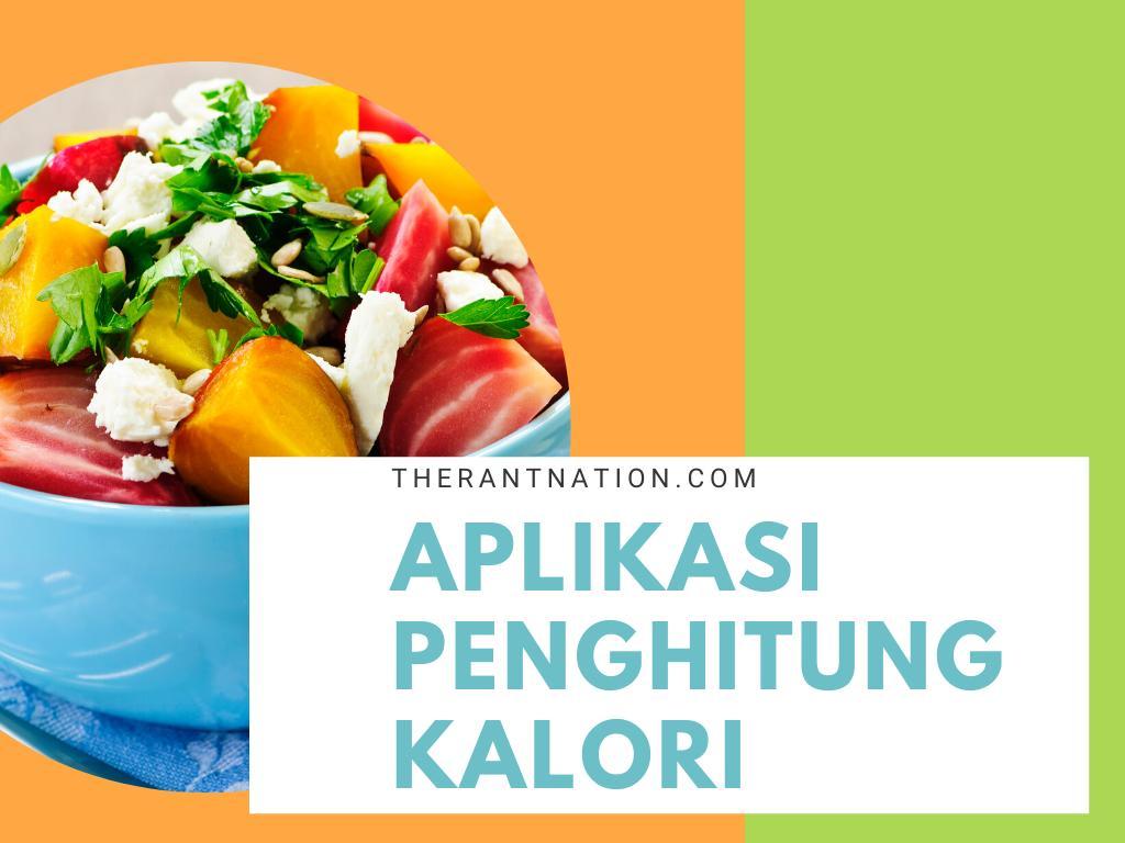 Aplikasi Penghitung Kalori Terbaik
