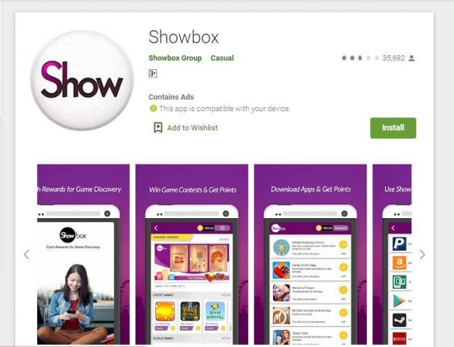 Aplikasi Show Box