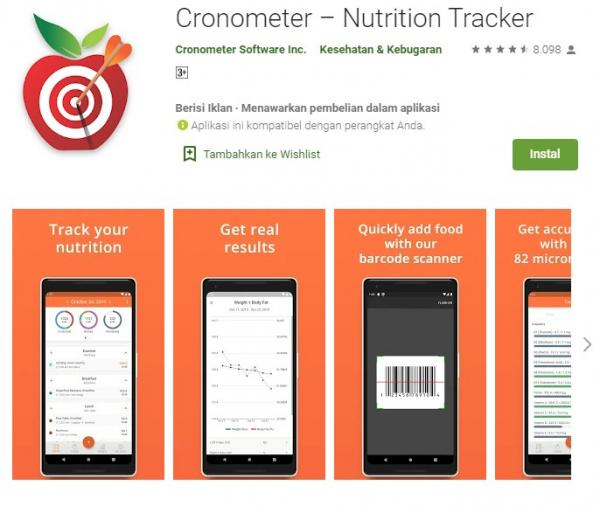 Cronometer - Nutrition Tracker