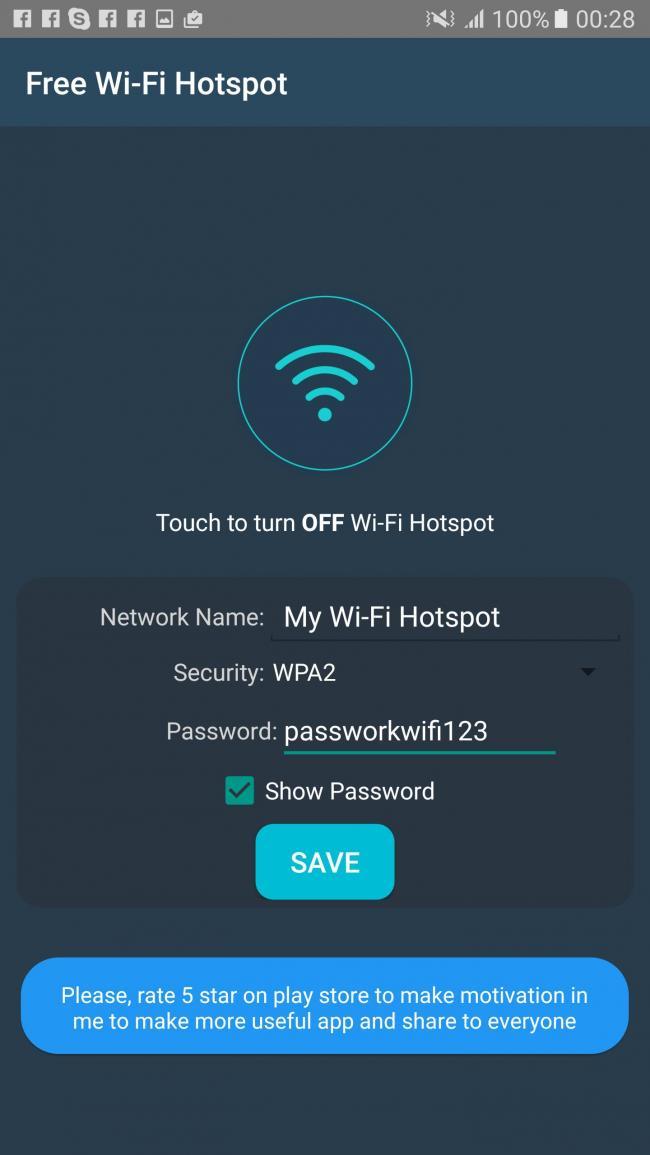 Hotspot Wifi Portable