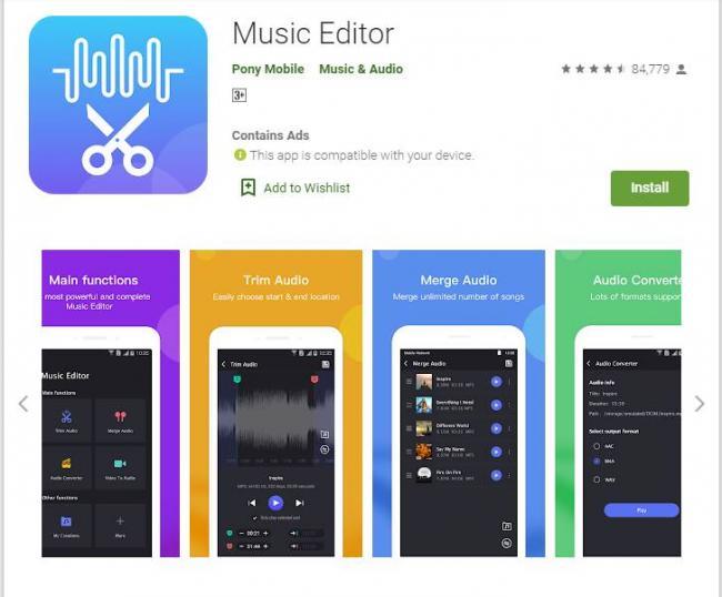 Music EDitor