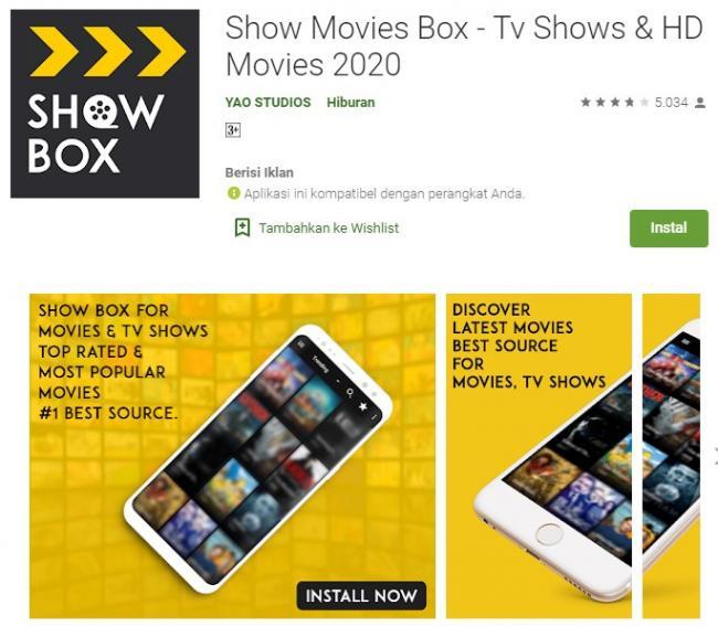 Show Movies Box