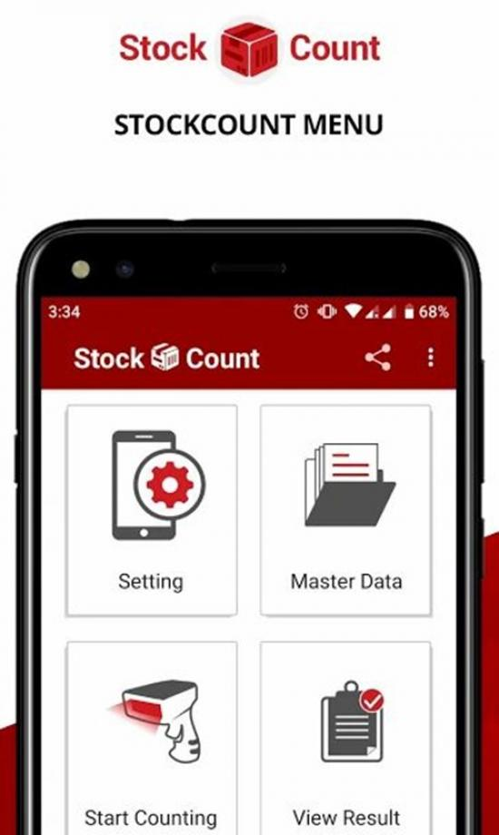 Stock Count (Stock Take Opname) Inventory Scanner