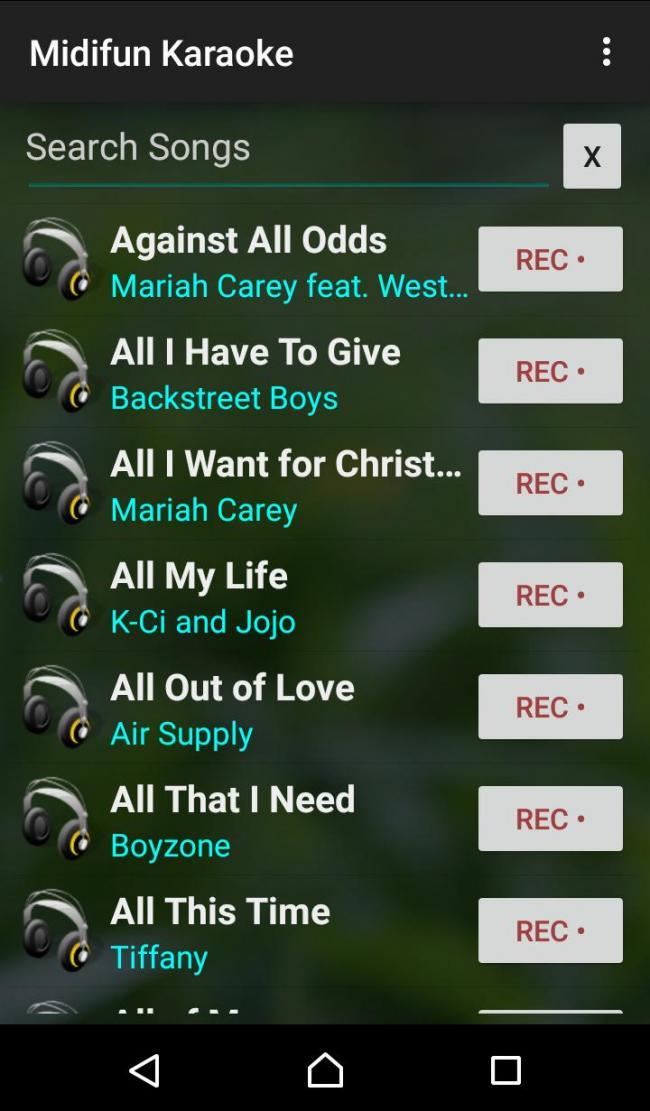 Aplikasi Midifun Karaoke
