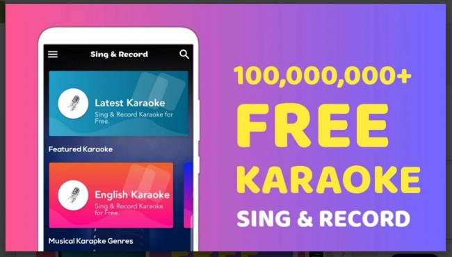 Aplikasi Sing Free Karaoke