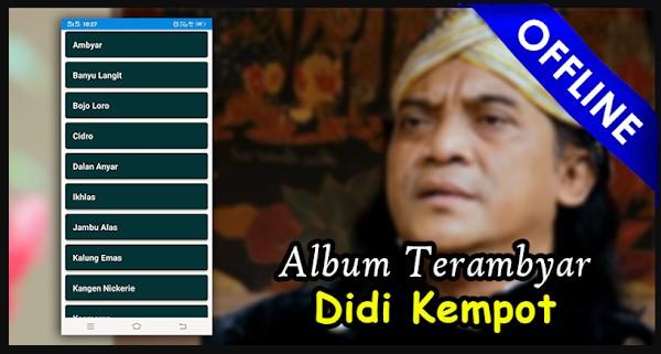 Didi Kempot Offline Mp3 Lirik Karaoke Terlengkap