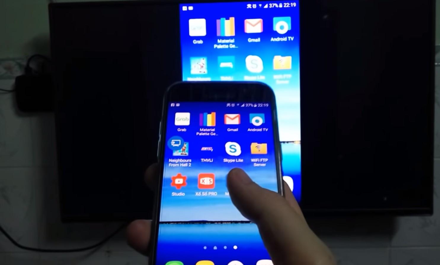 Langkah Menyambungkan Android Ke Tv Dengan Anycast