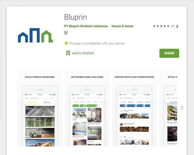 Aplikasi Bluprin
