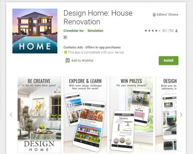 Aplikasi Design Home