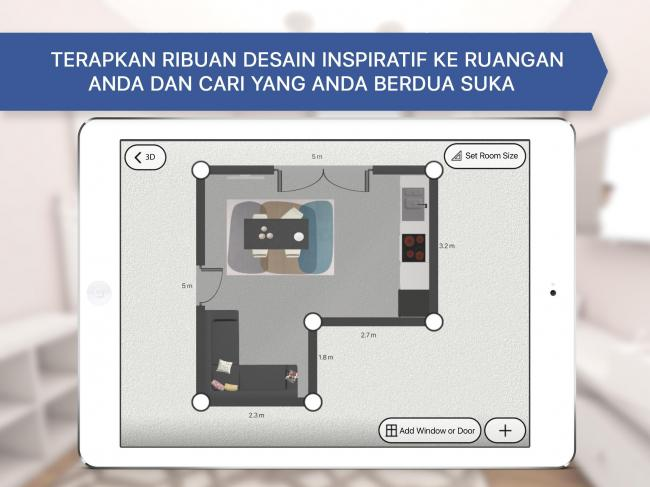 Aplikasi Room Planner