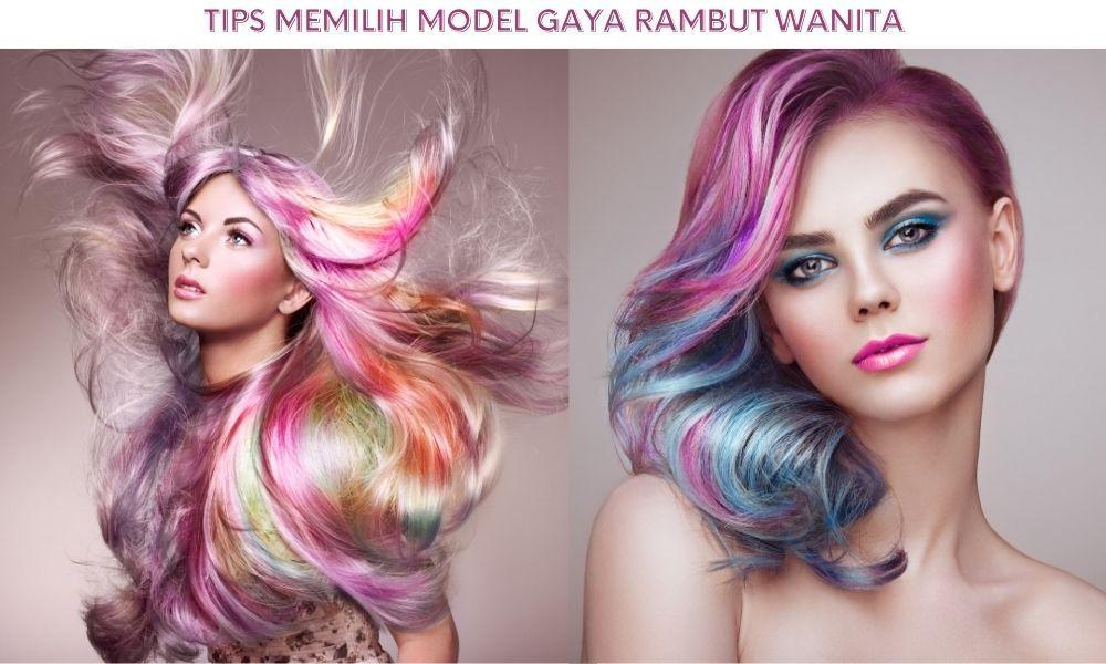 Tips Memilih Model Gaya Rambut Wanita Berdasarkan Bentuk Wajah