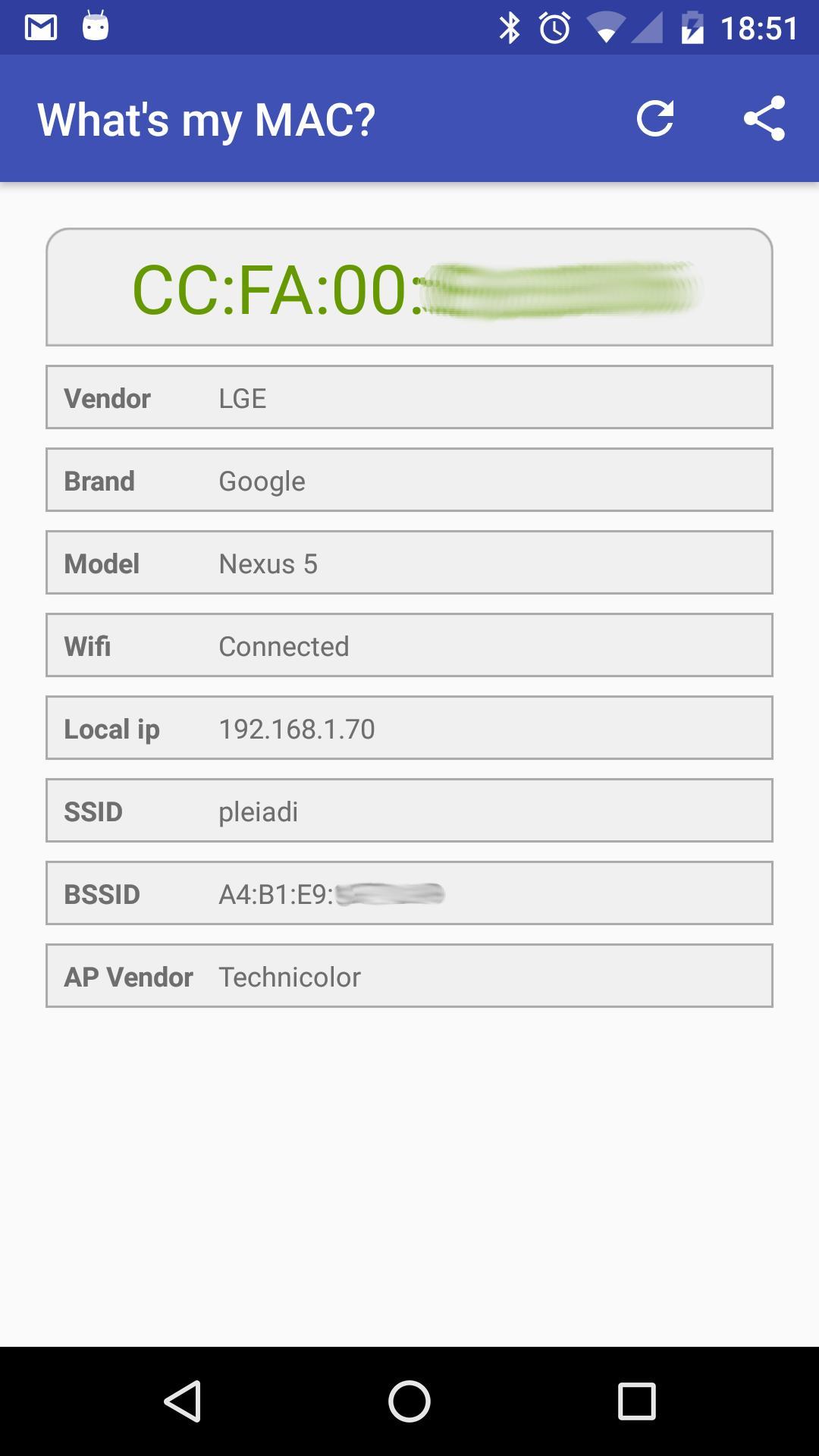 Cara Melihat Mac Address Melalui Aplikasi