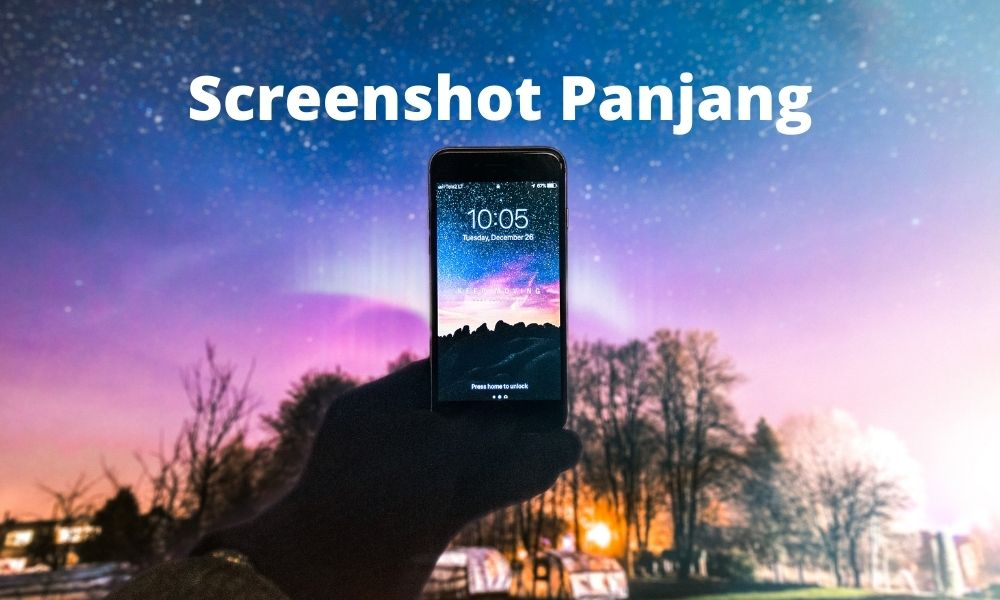Cara Screenshot Panjang Hp Xiaomi