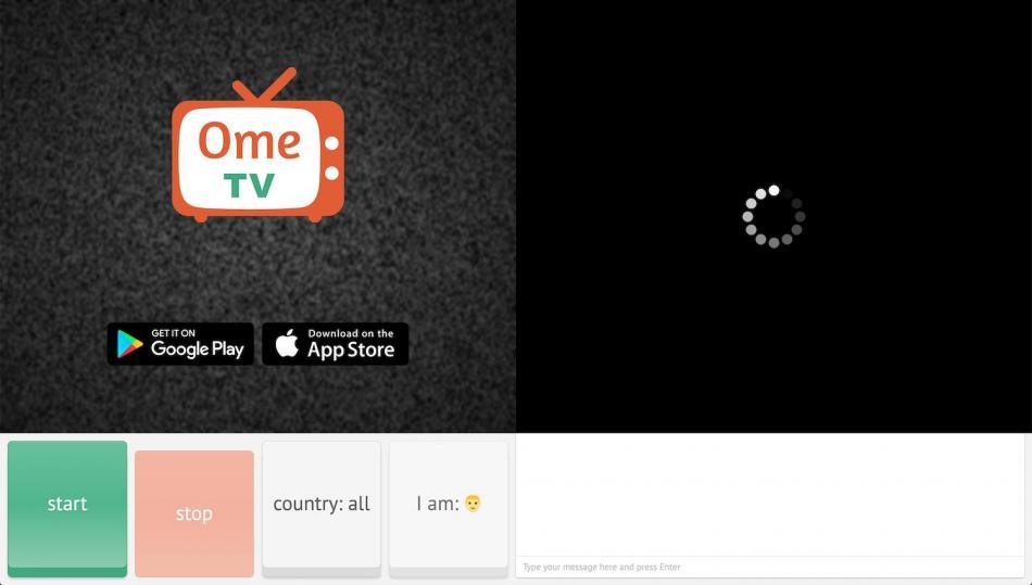 Menggunakan Omegle Ometv Video Chat