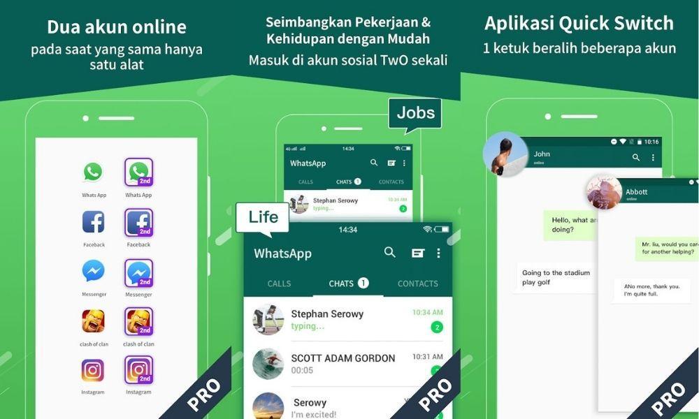 10 Aplikasi Clone Terbaik untuk Android, Wajib Pasang!