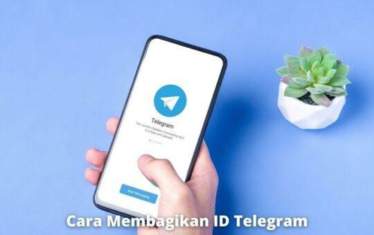 3 Cara Membagikan ID Telegram dalam Bentuk Tautan dan QR Code dengan Mudah