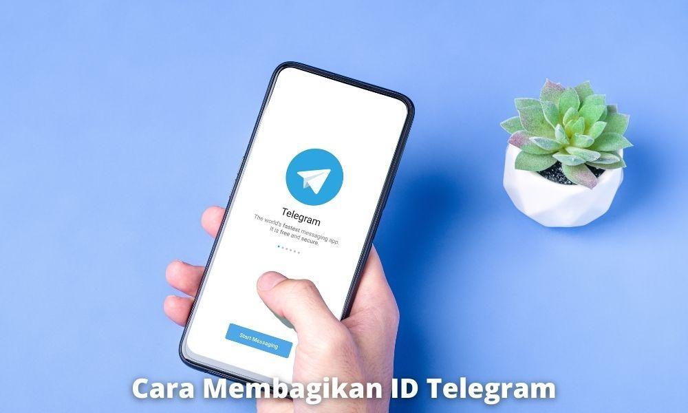 3 Cara Membagikan Id Telegram Dengan Mudah