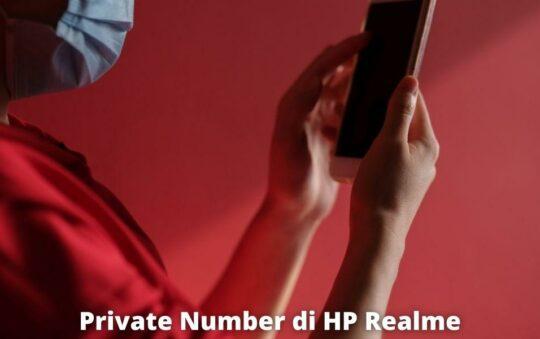 3 Cara Private Number di HP Realme yang Mudah dan Cepat