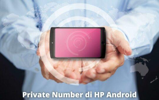 3 Cara Private Number di HP Vivo dan Jenis HP Lainnya