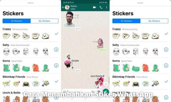 3 Cara Menambahkan Stiker Whatsapp Tanpa Ribet