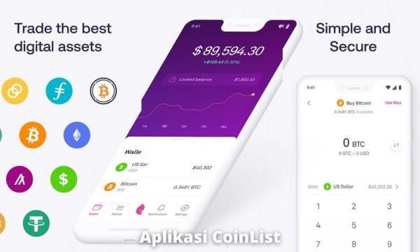 Apa Itu Aplikasi Coinlist