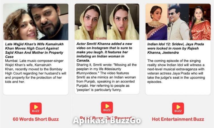 Aplikasi Buzzgo Penghasil Uang Dengan Membaca Berita