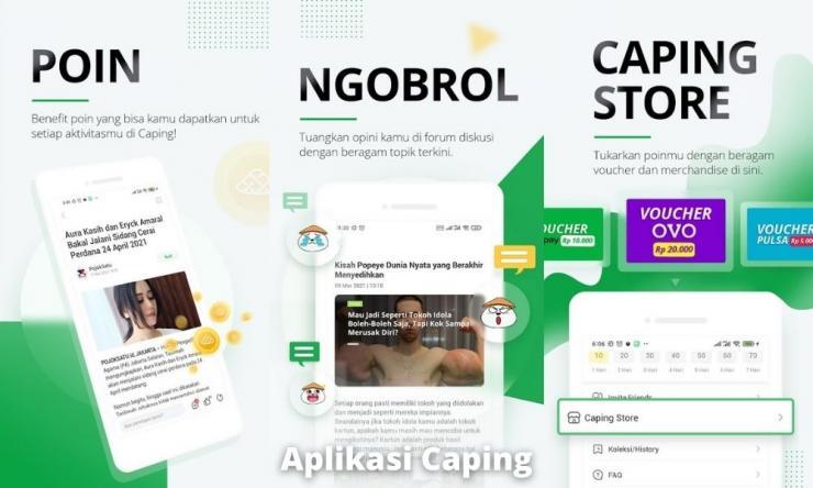 Aplikasi Caping Penghasil Uang Dengan Membaca Berita
