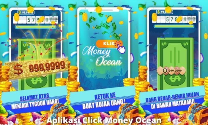 Aplikasi Click Money Ocean Penghasil Uang Dengan Misi Tertentu