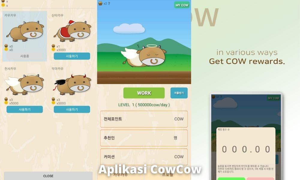 Aplikasi Cowcow Penghasil Uang Dengan Crypto Mining