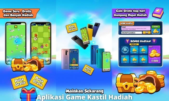 Aplikasi Game Kastil Hadiah Penghasil Uang Dengan Bermain Game