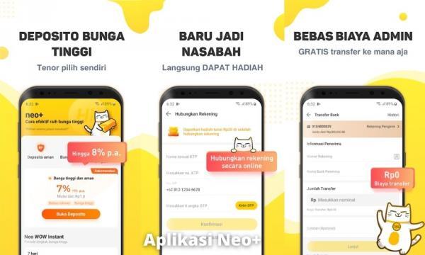 Aplikasi Neo+ Penghasil Uang Dengan Mengundang Teman
