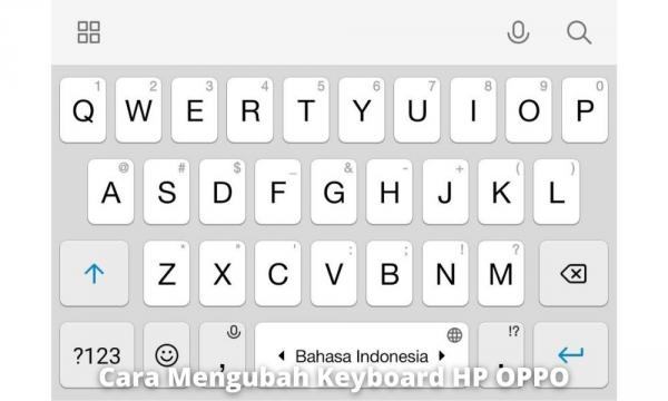 Menggunakan Aplikasi Tambahan Untuk Keyboard