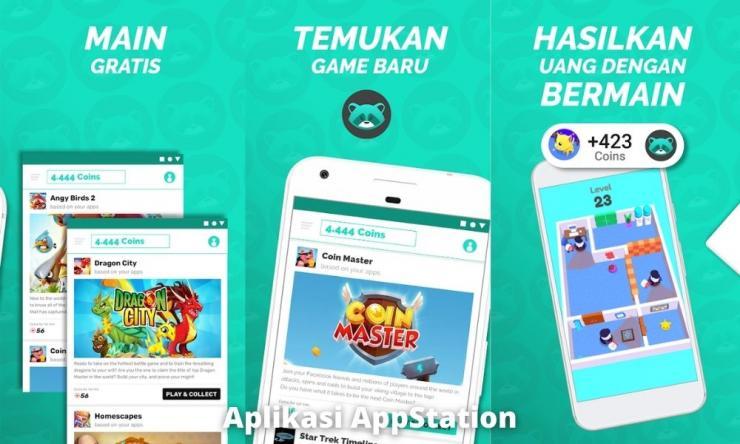 Aplikasi Appstation Penghasil Uang Dengan Gift Card