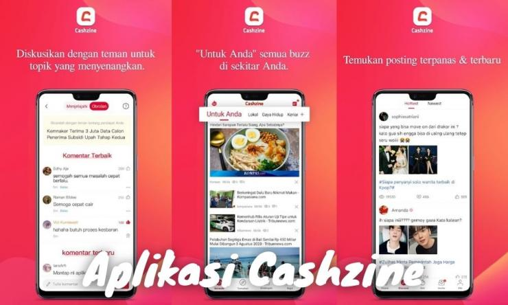 Aplikasi Cashzine Penghasil Uang Dengan Baca Berita