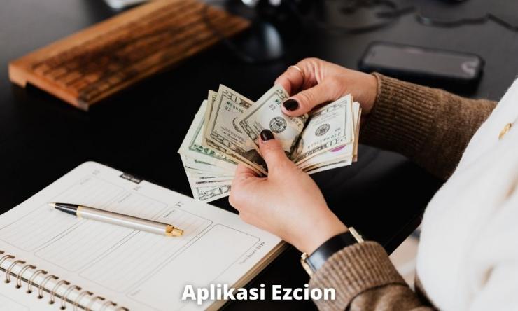 Aplikasi Ezcion Penghasil Uang