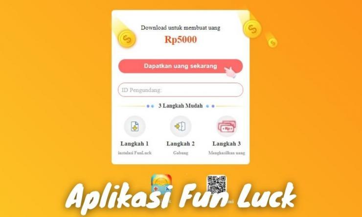 Aplikasi Fun Luck Penghasil Uang Dengan Main Game