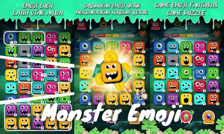 Aplikasi Game Monster Emoji Penghasil Uang Dengan Bermain