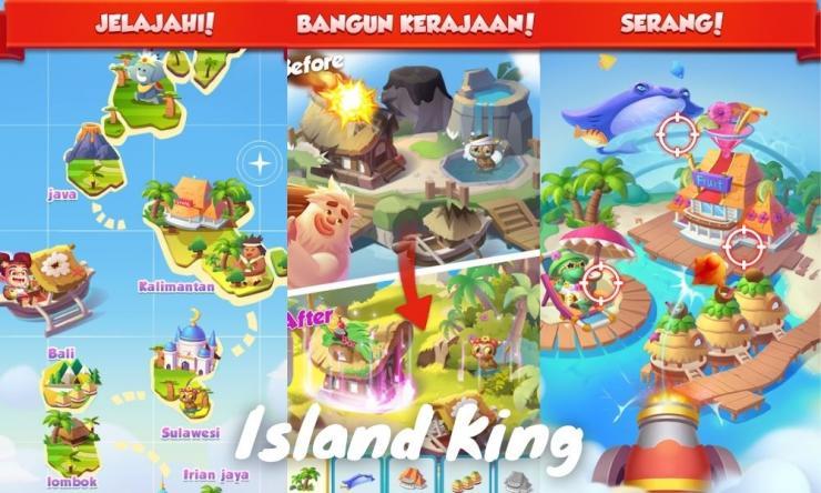 Aplikasi Island King Penghasil Uang Dengan Bermain Game