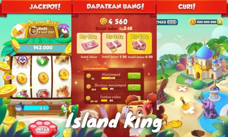 Aplikasi Island King Penghasil Uang