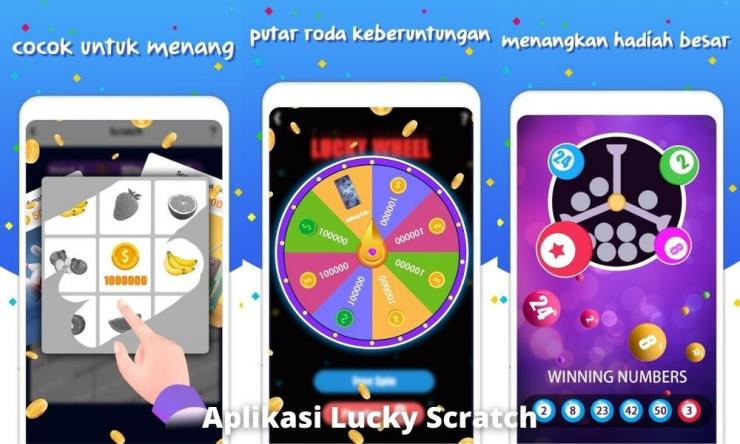 Aplikasi Lucky Scratch Penghasil Uang Dengan Keberuntungan