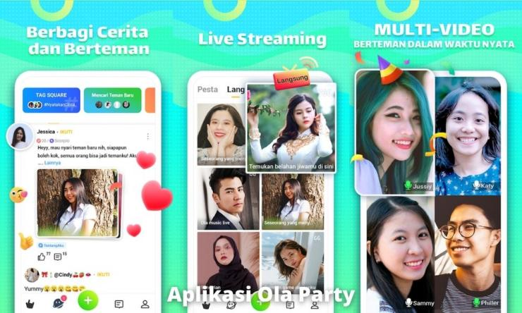Aplikasi Ola Party Penghasil Uang Dengan Misi Khusus