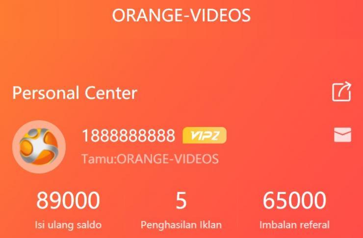 Aplikasi Orange Videos Penghasil Uang Dengan Nonton Video
