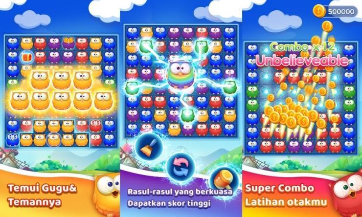 Aplikasi Owl Pop Blast Game Penghasil Uang Dengan Mudah