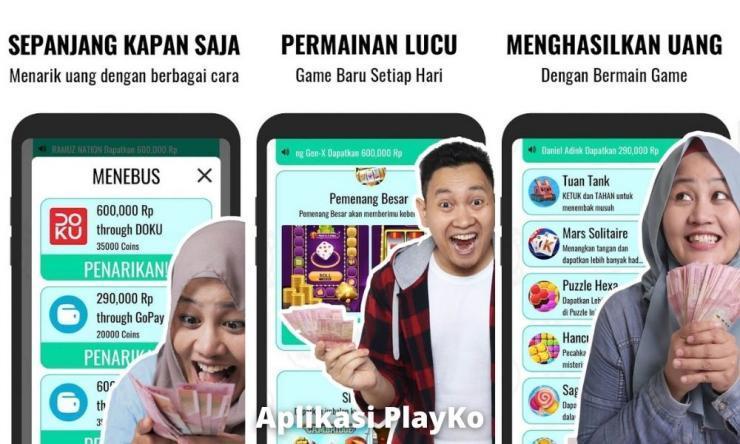 Aplikasi Playko Penghasil Uang Dengan Nonton Iklan