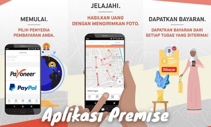 Aplikasi Premise Penghasil Uang